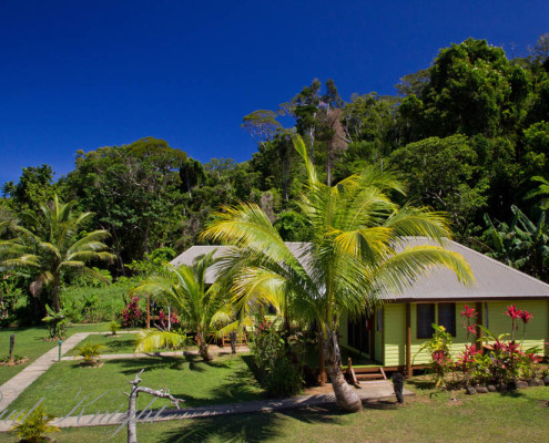 Fiji Resort Accommodation Deluxe Ocean Front Bures