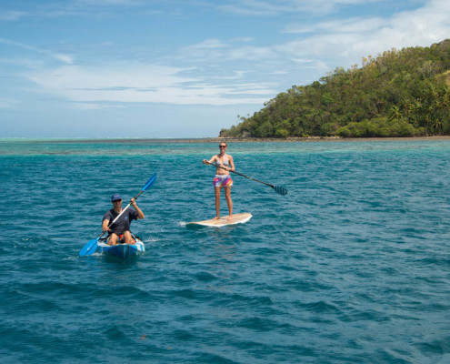 Fiji Kayaking at Waidroka