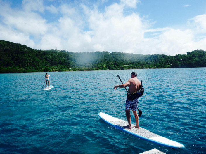 Fiji Resort Activities Stand Up Paddle Boarding