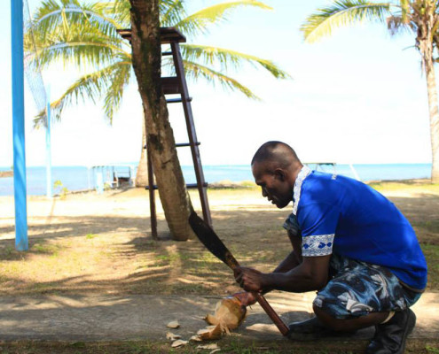 Resort Fiji Coconut Opening at Waidroka