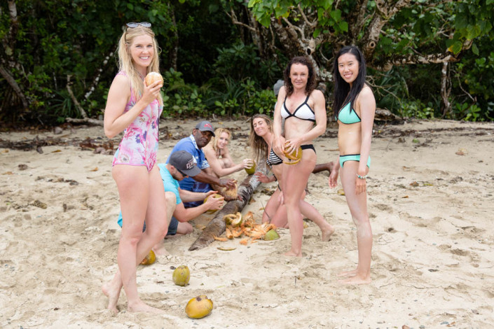 Fiji Resort Island Waidroka Coconut Fun