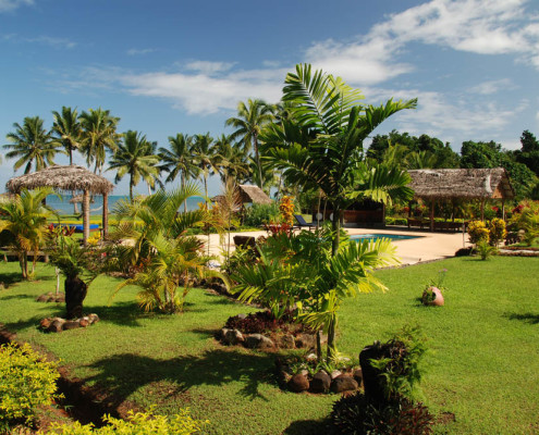 Fiji Resort Gardens and Landscaping