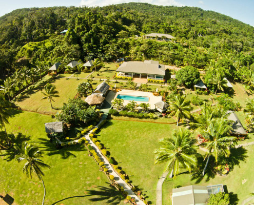 Resort Fiji Waidroka Drone View