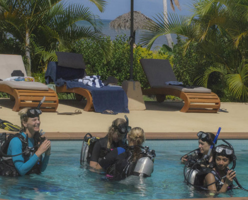 Scuba Dive Fiji Dive Training