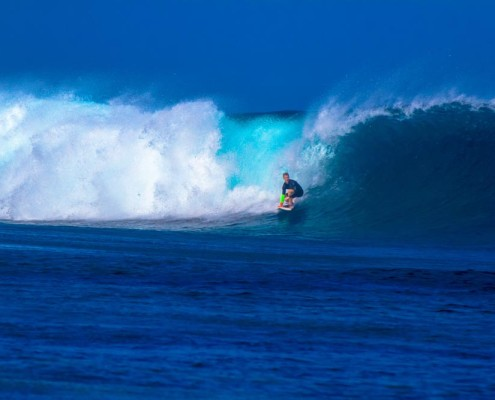 Surf in Fiji Frigates Pure