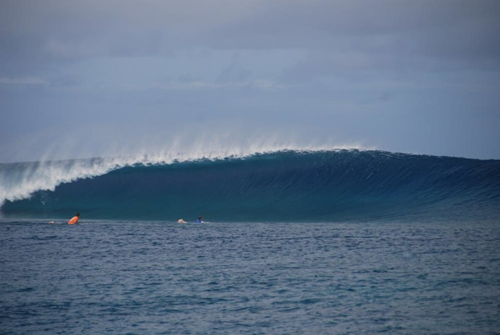 Surfing Fiji Frigates Pure and Pumping