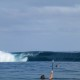 Surfing in Fiji Pipe Hungry