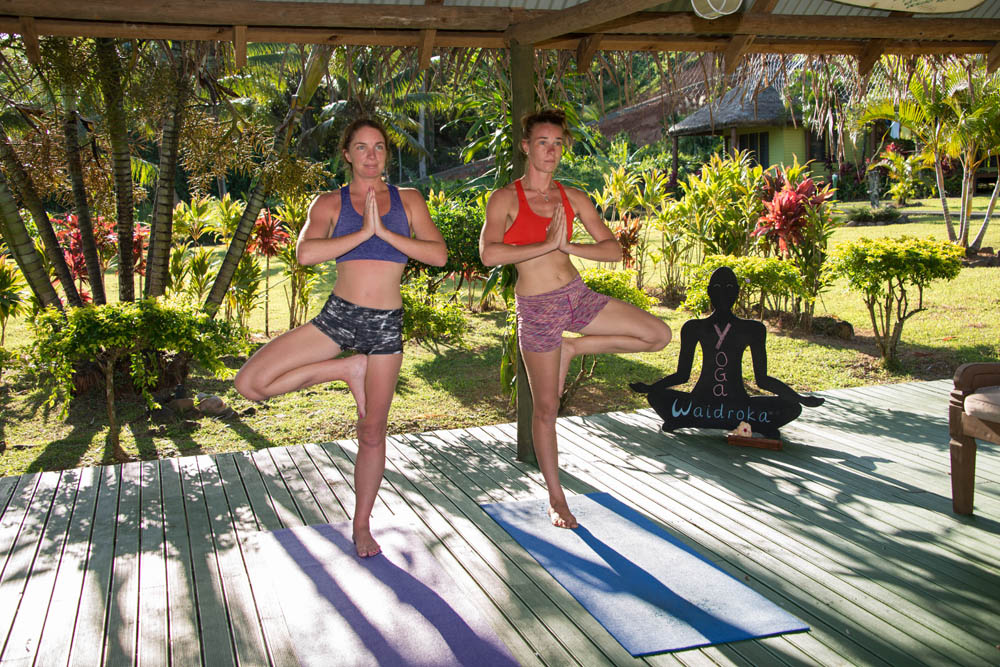 Best Fiji Resort Yoga at Waidroka