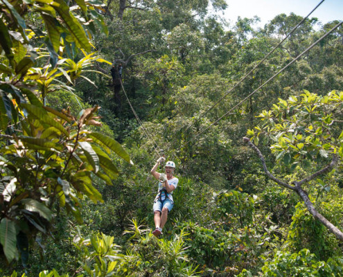 Fiji Best Zip line Waidroka Resort