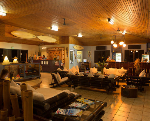 Fiji Accommodation Waidroka Lounge