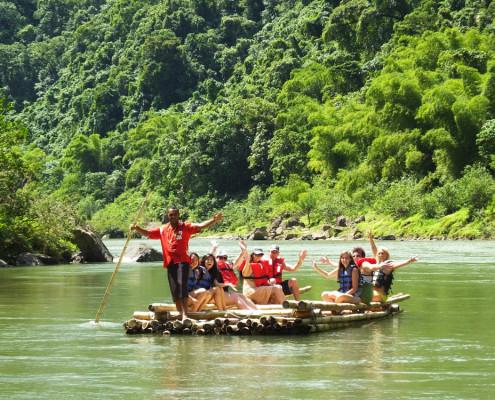 Fiji Rafting Bamboo
