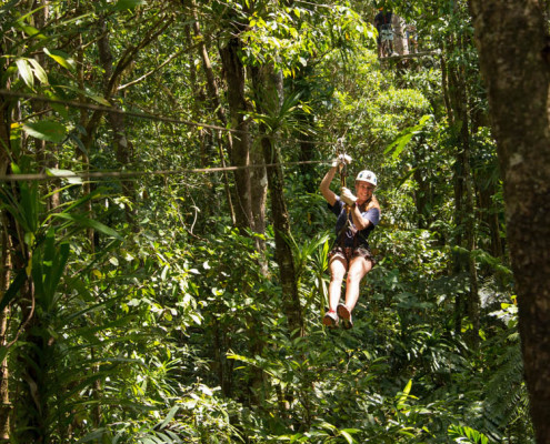 Fiji Zip Line Activities Waidroka Resort