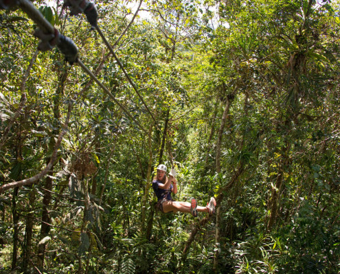 Fiji Zip Line Activities Fun