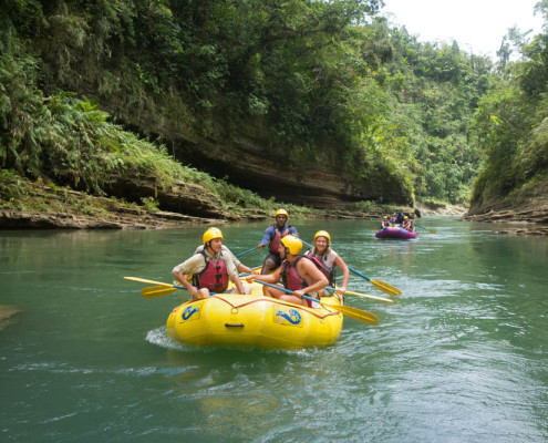 Fiji Rafting Waidroka Adventure Resort