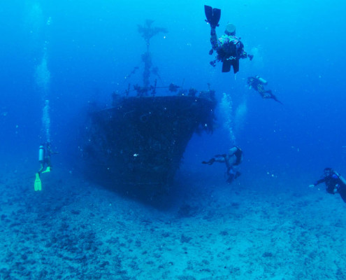 Fiji Beqa Lagoon The Tasu Wreck Dive
