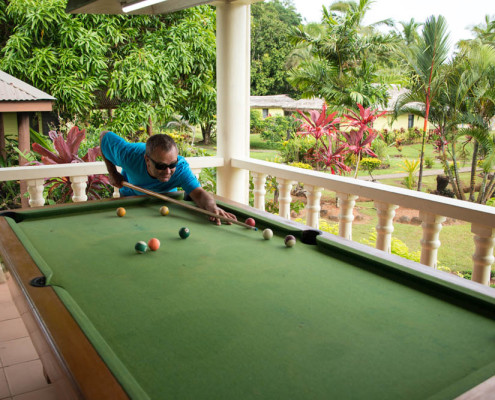 Fiji Activities Pool Sharks in the Rainforest