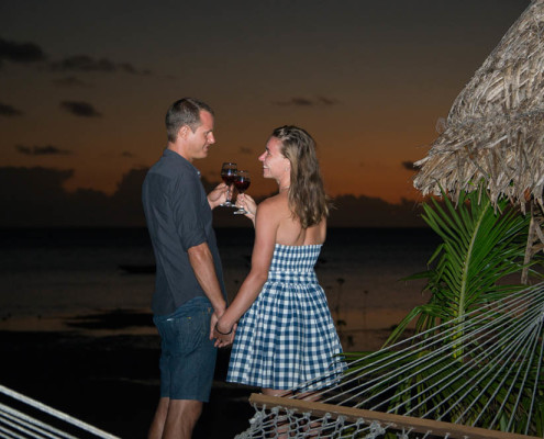 Best Fiji Resort Sunset Romantic Evenings at Waidroka