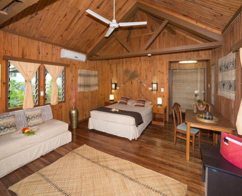 Accommodation Fiji Resort Room Bure