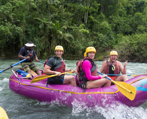 Fiji Rafting at Waidroka Great Fun