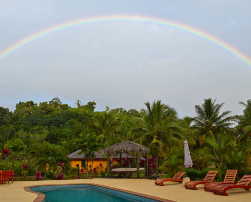 Fiji Resort Rainbow at Waidroka in the Rainforest