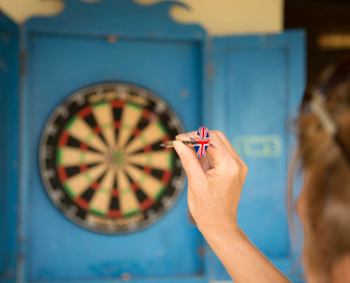 Fiji Resort Activities Rainforest darts at Waidroka