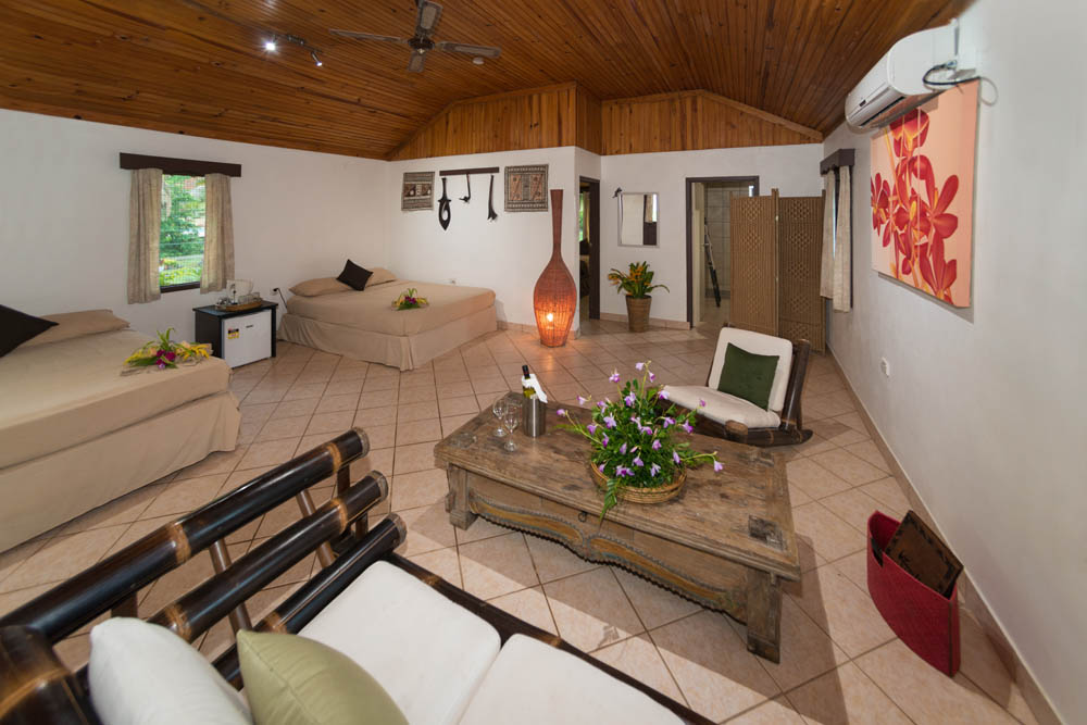 Fiji Resort New Superior Deluxe Room Interior