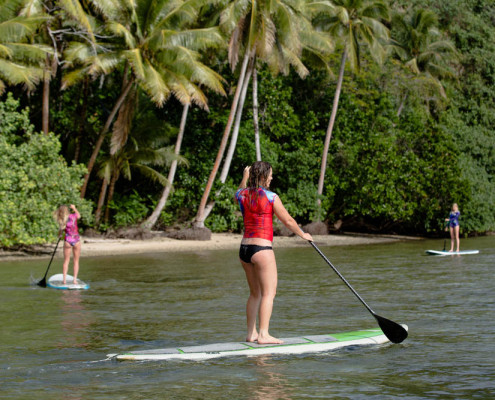 Fiji SUP Stand Up Paddle Waidroka Rainforest