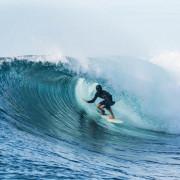Surfing Fiji J's Barrel