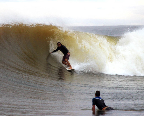 Surfing In Fiji Black Rock