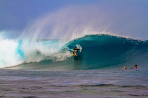 Surfing in Fiji Frigates Left Pure