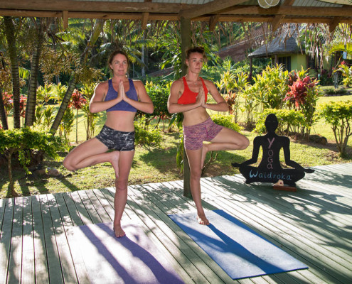 Best Fiji Resort Yoga at Waidroka